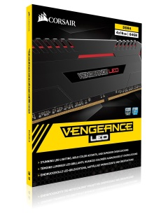 Corsair launches new high performance Vengeance LED DDR4 RAM