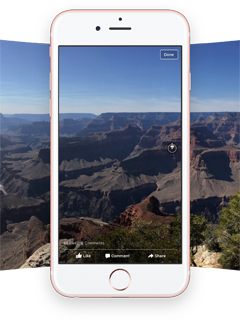 You can now view and upload 360-degree photos on Facebook