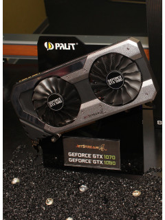 COMPUTEX 2016: Palit shows off new GameRock and JetStream GTX 1080 cards