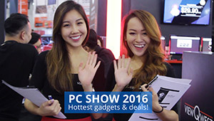 PC Show 2016: Hot new products & fresh tech bargains!