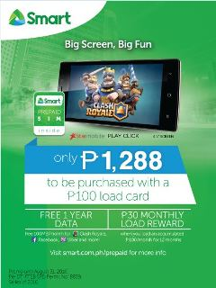 Smart, Starmobile launch PLAY Click for only PhP 1,288