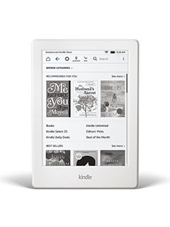 The new Amazon Kindle is thinner, lighter, and now comes in white