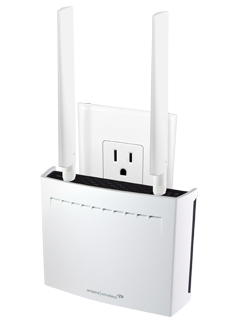 Extend your Wi-Fi coverage to 12,000 sq ft with the Amped Wireless REC44M