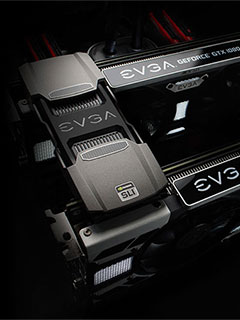 EVGA just made some fancy high bandwidth SLI bridges for NVIDIA's Pascal GPUs