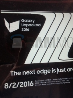 Samsung may announce the Galaxy Note 7 on 2nd August