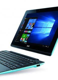 Acer offers four choices to choose from Acer's 2-in-1 devices