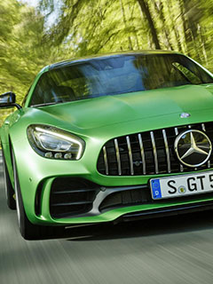 Check out this mad 577hp Mercedes AMG GT R at the Goodwood Festival of Speed
