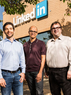 For US$26.2 billion, Microsoft has bought LinkedIn. Is there a reason why?