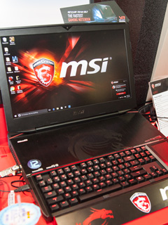 MSI updated its line-up of gaming notebooks with NVIDIA's next generation graphics