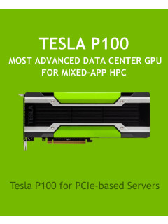 NVIDIA announces PCIe version of Tesla P100 and releases new Deep Learning SDKs