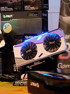 Palit shows off its new GeForce GTX 1080 GameRock cards at local launch event