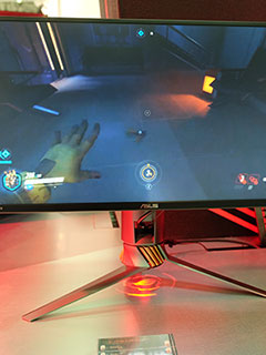 The ASUS ROG Swift PG258Q is a G-Sync monitor with a whopping 240Hz refresh rate