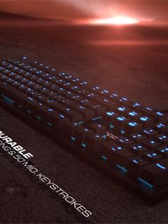 COMPUTEX 2016: Roccat announces the Suora, a new frameless mechanical keyboard