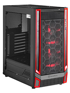 Silverstone woos gamers with its affordable Redline RL05 chassis