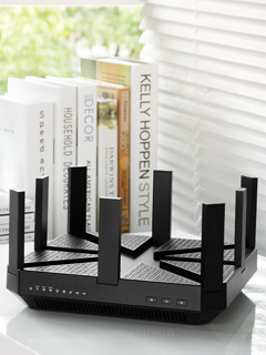 Transfer 1GB in seconds with the world's first 802.11ad router