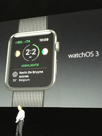 Apple WatchOS 3 includes revamped UI, new features and faster app performance