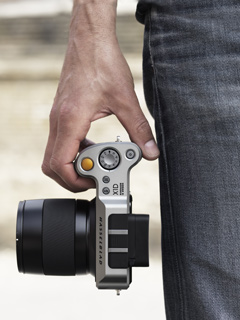 Hasselblad's X1D-50c is the world's first medium format mirrorless camera