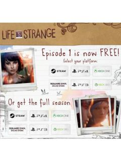 Life is Strange (Episode 1) is now free!