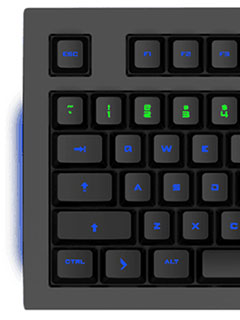 The Das Keyboard 5Q RGB mechanical keyboard responds to notifications from the cloud