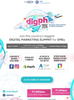 DigPH Digital Marketing Summit returns this July