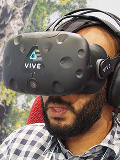 Hands on: HTC Vive VR headset
