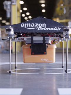 The U.K. is Amazon's next target for drone deliveries