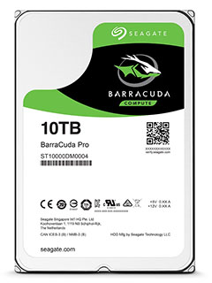 Seagate announces 10TB Guardian Series hard disk drives