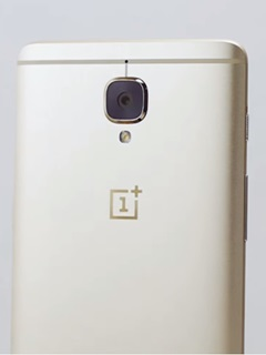 There's a new color for the OnePlus 3, and it's called Soft Gold