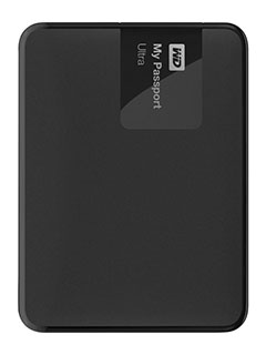 WD My Passport drives now come with up to 4TB of space