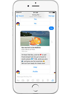 Yahoo uses bots to bring the latest news, weather and more to Facebook Messenger