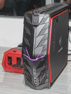 Acer unleashes the Predator G1 gaming desktop and Predator 17 X gaming notebook