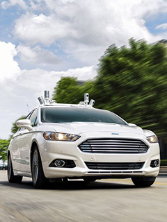 By 2021, Ford wants a fleet of self-driving cars