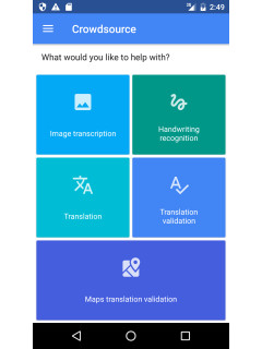 Google's Crowdsource app seeks help in translation and text transcriptions