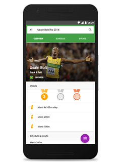 Google is now a one-stop shop for news concerning the Rio 2016 Olympic Games