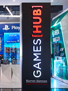 Harvey Norman's Games Hub at Millenia Walk aims to be the gamer's dream store