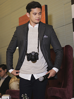 Fujifilm introduces James Reid as the newest brand endorser
