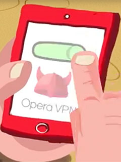 Opera brings its free VPN to Android