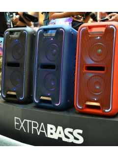 Sony brings the bass with its EXTRA BASS lineup