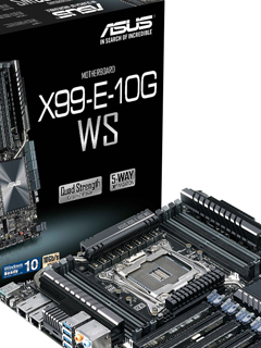 ASUS releases new 10Gbps LAN workstation motherboard - the X99-E-10G WS