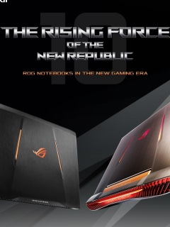 ASUS ROG launches gaming laptops with NVIDIA GeForce GTX 10 graphics cards