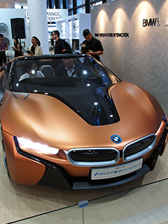 In pictures: The BMW i Vision Future Interaction Concept Car