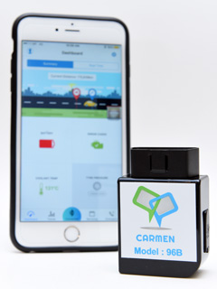 The Carmen dongle and app tracks your car's health to prevent surprise breakdowns