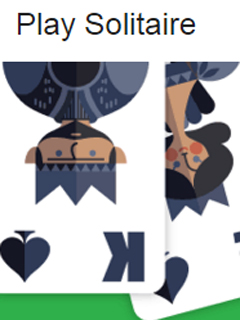 Solitaire and Tic-Tac-Toe playable via Google's search results