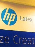 Printing beyond paper: HP Latex 360 and Designjet D5800 Production Printer