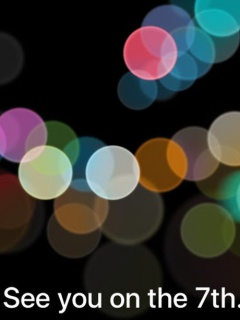 Apple is holding an event on September 7, likely to unveil iPhone 7