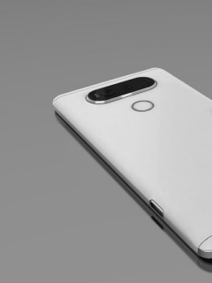 Purported renders of the LG V20 show a rear dual-camera module and metal design