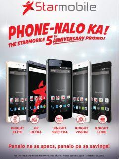 "Starmobile offers ""Phone-Nalo Ka"" anniversary promo"