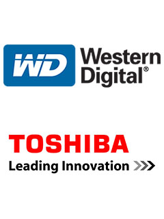 Toshiba and Western Digital begin shipping world's first 64-layer 3D NAND