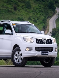 Foton presents Toplander 4x4 at 6th Philippine International Motor Show