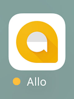 Allo is a messaging app that leverages the power of Google